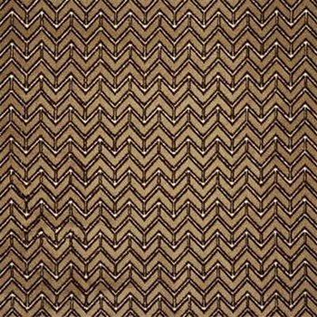 2432-GWF.16 Chevron Velvet Camel by Groundworks
