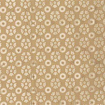 2441-GWF.16 Mint Flower Sil Sand by Groundworks