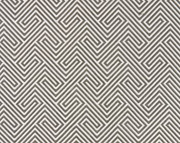 27030-003 Labyrinth Weave Nickel by Scalamandre