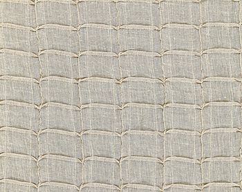 27041-002 Pintuck Linen Sheer Flax by Scalamandre