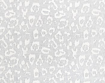 27054-001 Leopard Linen Sheer Ivory by Scalamandre