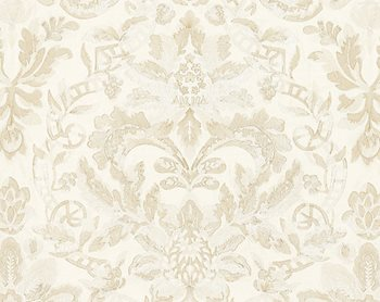 27086-001 Elizabeth Damask Embroidery Alabaster by Scalamandre