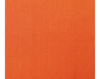27108-025 Toscana Linen Clementine by Scalamandre