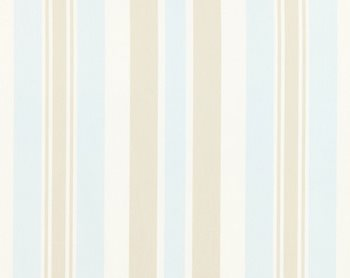 27112-002 Mayfair Cotton Stripe Sea Gull by Scalamandre