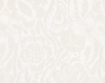 27131-002 Deco Flower Pearl Grey by Scalamandre