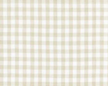 27166-002 Swedish Linen Check Flax by Scalamandre