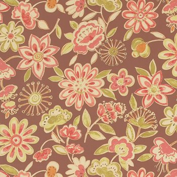 3172903 Summer Sketch Fired Clay by Fabricut