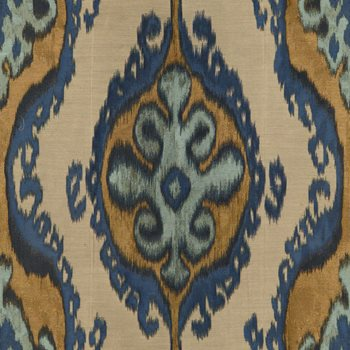 32174.540 Homage Ikat Indigo by Kravet Couture