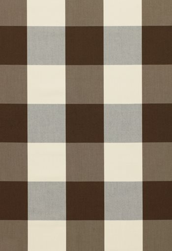 3353029 Mecox Check Charcoal by F Schumacher