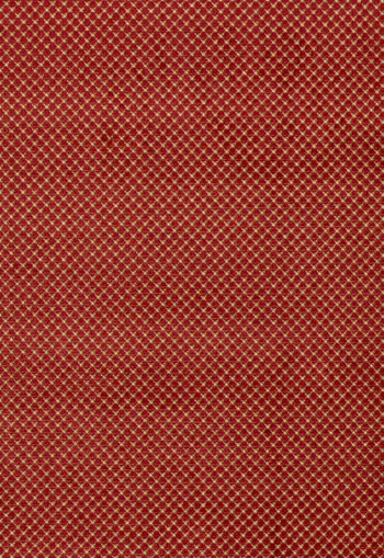 43483 Farrington Linen Velvet Red by FSchumacher