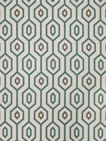 4635701 Sonic Youth Teal By Fabricut