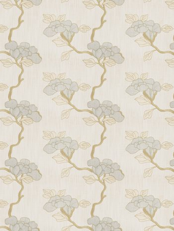 4996505 Asian Floral Stream by Fabricut