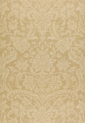 5000441 Damask Floreale Beige by FSchumacher