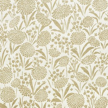 5009782 Chrysanthemum Sisal Gold by Schumacher