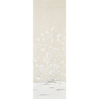 5010161 Chinois Palais Vinyl Stone by Schumacher