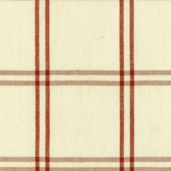 55712 Luberon Plaid Bittersweet by Schumacher