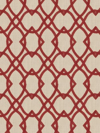 6439804 Residence Vermillion by Fabricut