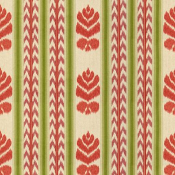 8013144.910 Chenonceaux Coral/Plum by Brunschwig & Fils