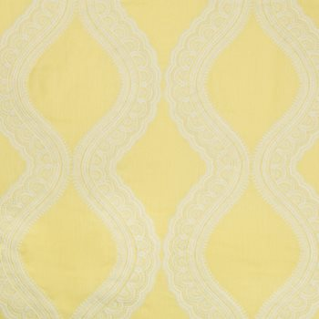 8017106.14 Isoline Emb Canary by Brunschwig & Fils