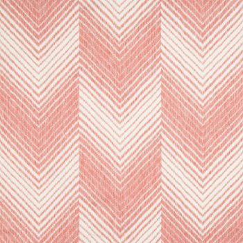 8017133.19 Les Chevrons Print Red by Brunschwig & Fils