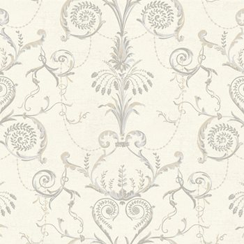 Damask Wall Paper ab1940 black & white neo classic damask wallpaperyork