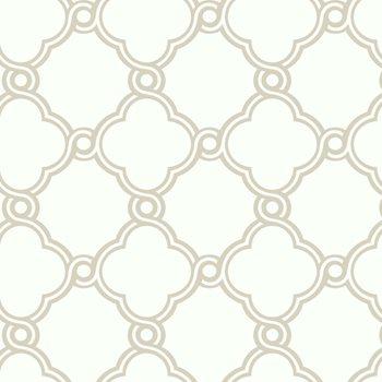 ap7481 black white open trellis wallpaper by york - Trellis Wall Paper