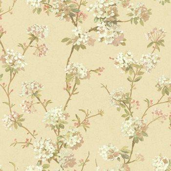 AV2835 120th Anniversary Cherry Blossom Wallpaper By York