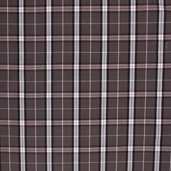 BAXTER PLAID Charcoal by RM Coco