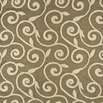 Beekman Scroll Mocha by Kasmir