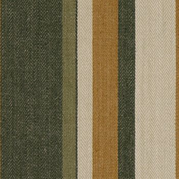 BF10517.3 Drummond Stripe Gold/Sepia by G P & J Baker