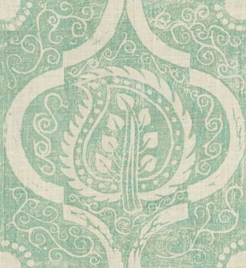 BFC-3516.13 Persian Leaf Aqua by Lee Jofa