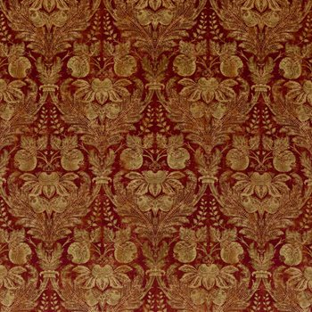 BP10829.2 Lapura Velvet Indian Red by G P & J Baker