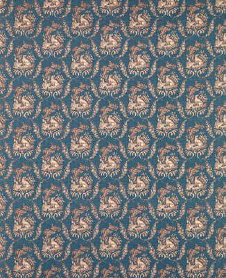 BR-79165.244 The Hunting Toile Oxford Blue by Brunschwig & Fils