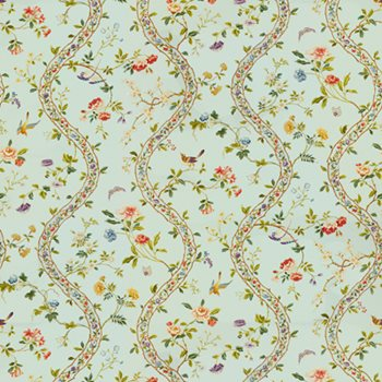 BR-79681.205 Silk Road Cotton Print Opal by Brunschwig & Fils