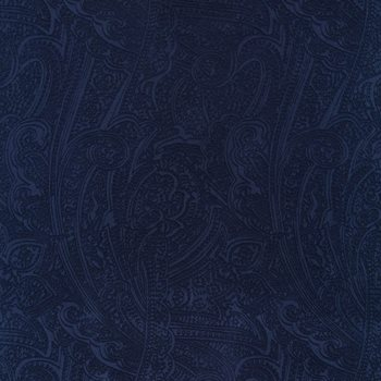 Bungalow Paisley Navy By Kasmir