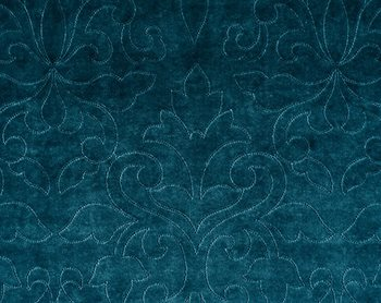 CH0662-229 Classic Velvet Teal by Scalamandre