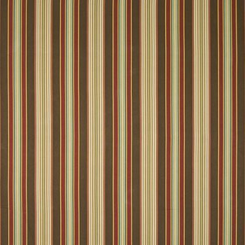 Cheverny Stripe Ruby by Kasmir