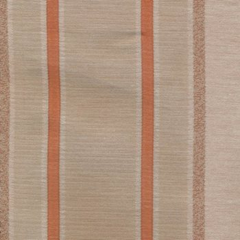 Deavers Stripe Terracotta by Kasmir