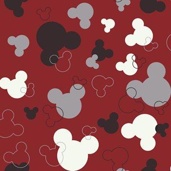 Dk5928 Walt Disney Kids Mickey Mouse Heads Wallpaper By York