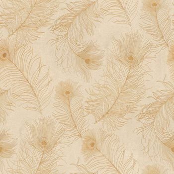 ET2015 Enchantment Peacock Tail Wallpaper By York