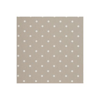 F0063-12 Dotty Taupe by Clarke and Clarke