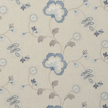 F0735-2 Chatsworth Chambray by Clarke and Clarke