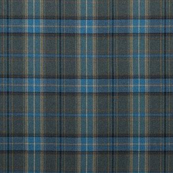 Fd344 H101 Shetland Plaid Blue By Mulberry