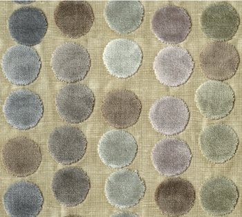 GWF-3054.711 Avery Dots Mauve/Taupe by Groundworks