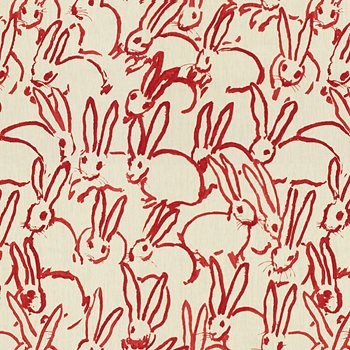 GWF-3523.19 Hutch Print Red by Groundworks