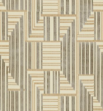 GWF-3710.1116 Cuboid Velvet Grey/Beige by Groundworks