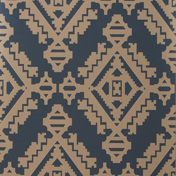 GWP-3407.506 Navajo Indigo by Groundworks