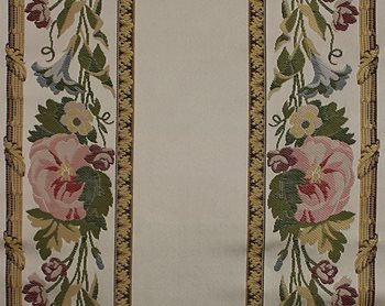H01676-001 Bordure Marly Multi On Ivory by Scalamandre