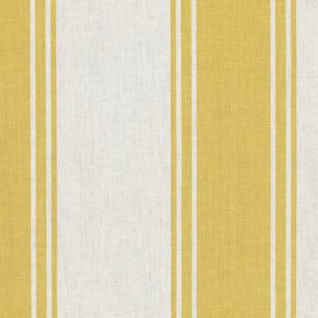 Harrington Stripe Canary Yellow By Ralph Lauren Fabric