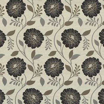 Hedgerow Floral Slate by Kasmir